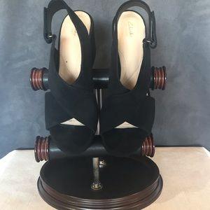 Clark's Artisan Maritsa Lara Suede Dress Sandal 8